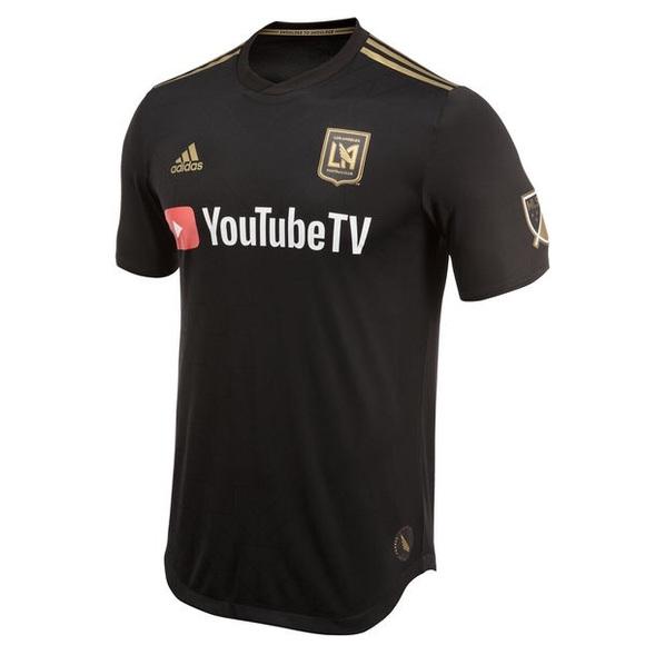 0f1094c1f8f LOS ANGELES FOOTBALL CLUB LAFC JERSEY MLS. NWT. Adidas